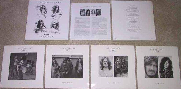 The Biggest Led Zeppelin Discography Discografia Plant Jones